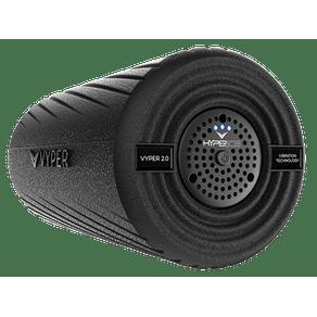 Vyper 2.0 preto- Rolo de Massagem com Vibração Vyper 2.0 preto